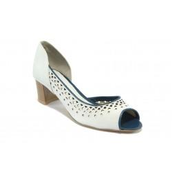 Дамски обувки с перфорация ГО 0408-2925 айс
