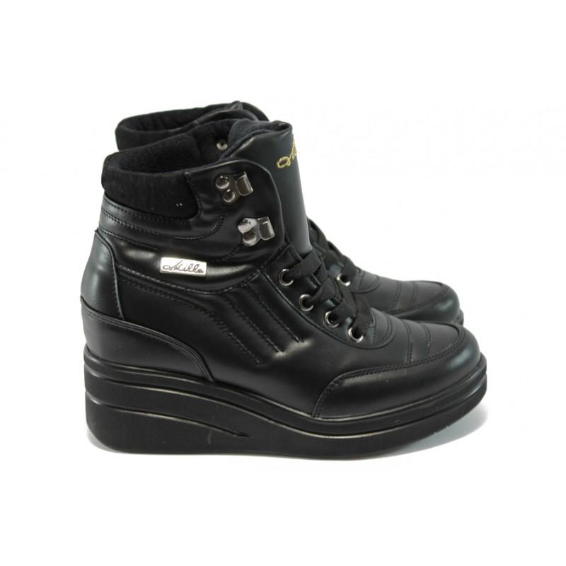 266d7f62195 Дамски спортни боти на платформа МИ 405 черни
