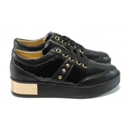 Дамски спортни обувки МИ 210 черни