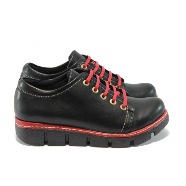 Дамски спортни обувки МИ 301 черен