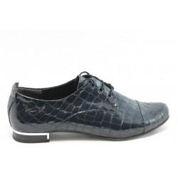Дамски спортно - елегантни обувки МИ 102 синьо