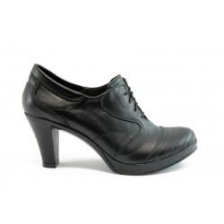 Дамски анатомични обувки на ток с връзки НЛ 56