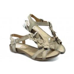 Дамски анатомични сандали ИО 1278 бежово