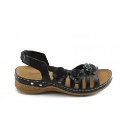 Дамски анатомични сандали Jump 5038 черни