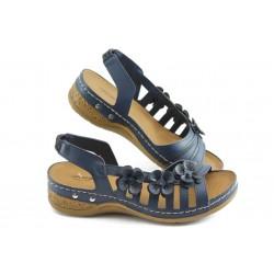 Дамски анатомични сандали Jump 5038 сини