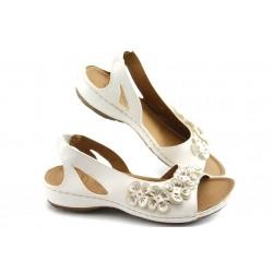 Дамски анатомични сандали Jump 5079 бели