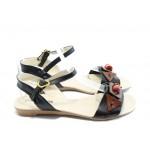 Дамски равни сандали МИ 03 черни