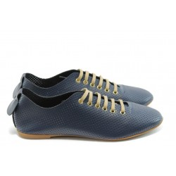 Дамски спортни обувки с перфорация МИ 697 сини