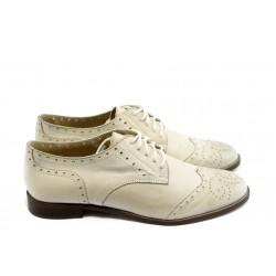 Дамски обувки на нисък ток ГО FLAVIA 06 бежови