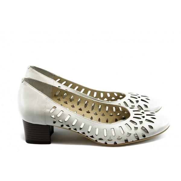 Дамски обувки на среден ток ГО 0391 айс