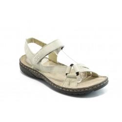 Български анатомични сандали естествена кожа ГР 9008 бежови