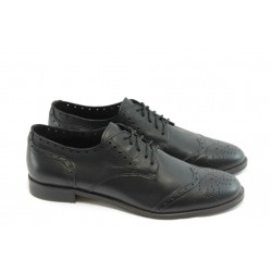 Дамски обувки на нисък ток ГО FLAVIA 06 черни