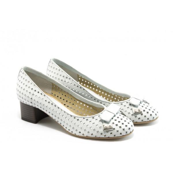 Дамски обувки на среден ток ГО 0392 айс