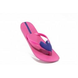 Детски чехли със сърце Ipanema 80941 циклама