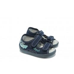 Детски анатомични сандалки МА 13-112 сини
