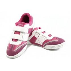 Детски маратонки с лепенки Bulldozer 8047 розови