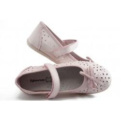 Детски анатомични обувки с перфорация КА С-42 розово