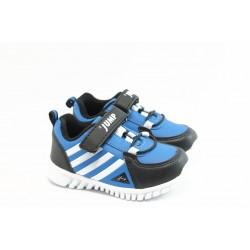 Бебешки маратонки с лепенки Jump 4468 синьо