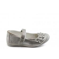 Детски анатомични обувки с лепенка РЛ 13014 сиво