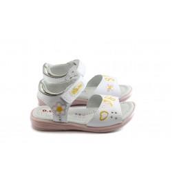 Детски ортопедични сандали РЛ К03-4 бели