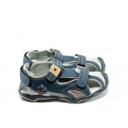 Детски анатомични летни обувки КА Т-939 сини 31/35