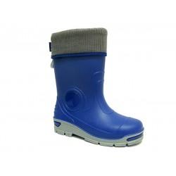 Бебешки гумен ботуш с топъл чорап MUFLON 33-666-2А син
