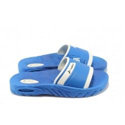 Детско-юношески анатомични чехли с цяла лента Rider 81285 сини 31/38