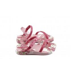 Бебешки сандали с лепенка Ipanema 81207 розови