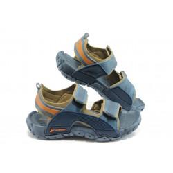 Детски сандали с лепенки Rider 81184 сини 31/38анатомични