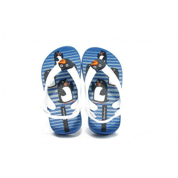 Бебешки сандали с ластик Ipanema 81215 сини