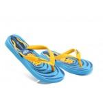 Детски бразилски чехли Ipanema 81263 сини