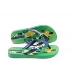 Детски бразилски чехли Ipanema 81202 зелени