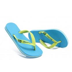 Детски бразилски чехли Ipanema 80416 синьо-зелени