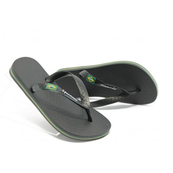 Детски бразилски чехли Ipanema 80416 черни