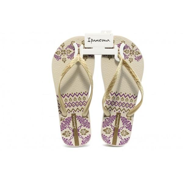Дамски бразилски чехли Ipanema 81432 бежови