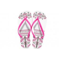 Дамски бразилски чехли Ipanema 81432 бели