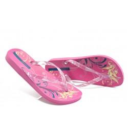 Дамски бразилски анатомични чехли Ipanema 81155 розови