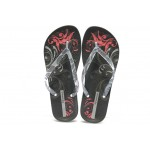 Дамски бразилски анатомични чехли Ipanema 81155 черни