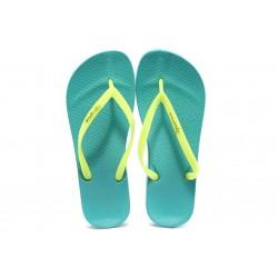 Дамски анатомични чехли Ipanema 81030 синьо-жълт
