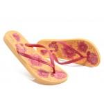 Дамски анатомични чехли Ipanema 81157 оранжеви