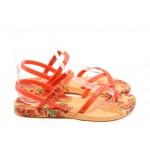Дамски бразилски сандали Ipanema 81193 оранжеви