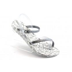 Дамски бразилски сандали Ipanema 81193 бяло-сиви