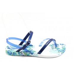 Дамски бразилски сандали Ipanema 81193 бяло-сини