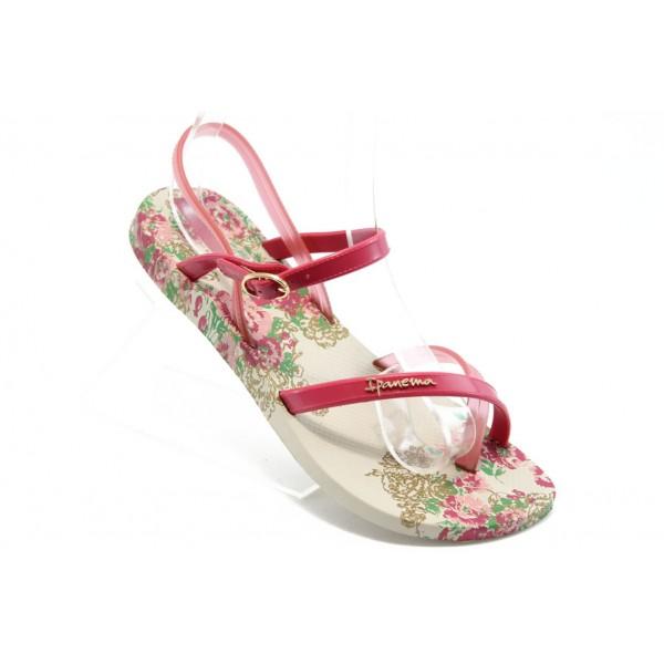 Дамски бразилски сандали Ipanema 81193 бежови-розови
