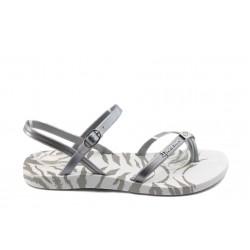 Дамски бразилски сандали Ipanema 81309 бяло-сиви