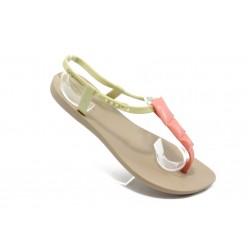 Дамски бразилски сандали Ipanema 81075 бежови
