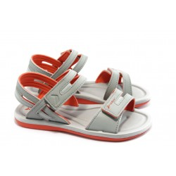 Дамски бразилски сандали Rider 81172 червено-сиви