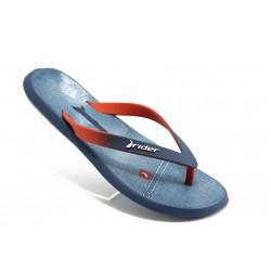 Мъжки бразилски чехли Rider 81231 синьо-червени