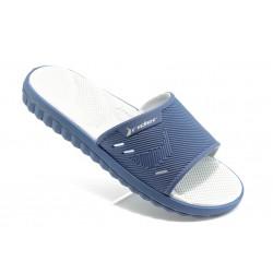 Мъжки бразилски чехли с цяла лента Rider 81127 сини