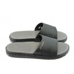 Мъжки бразилски чехли с цяла лента Rider 81127 черни